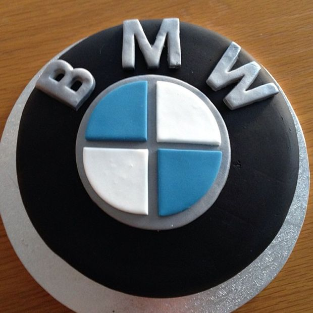 Bmw Car Auto Wheel Logo Cake Design Cakes Recipes And