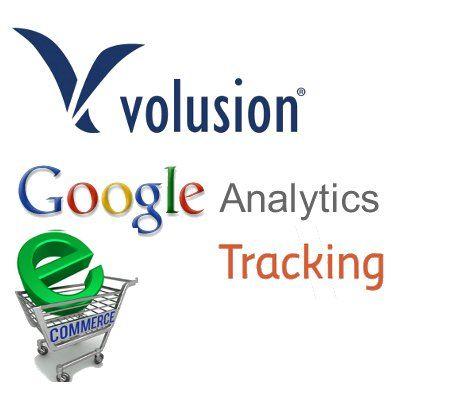 Volusion eCommerce analytics  setup