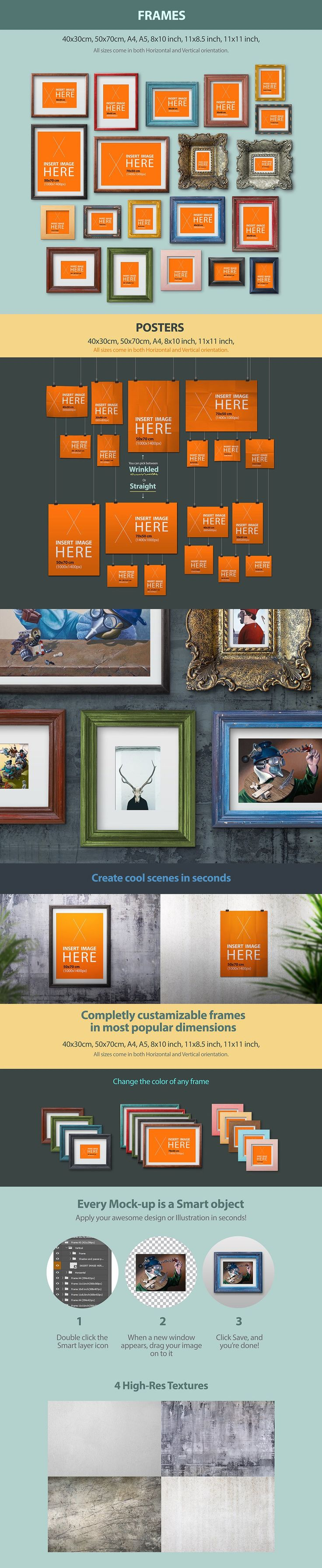 Design your poster free - Free Download This Week Frames And Posters Mockup To Show Off Your Art Or Projects