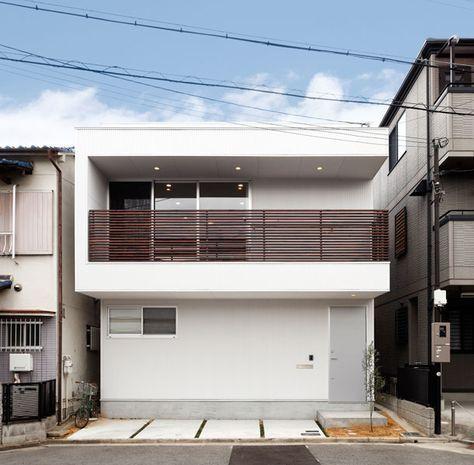 CASE 174 | コの字ハウス(大阪府堺市) |ローコスト・低価格住宅|狭小住宅・コンパクトハウス | 注文住宅なら建築設計事務所 フリーダムアーキテクツデザイン
