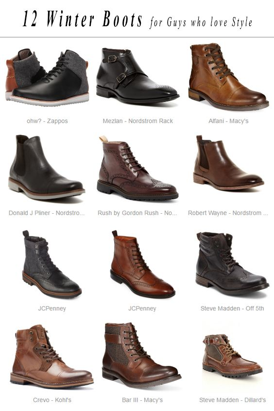 Since the weather began to cool down, I started thinking what pair of boots I am going to wear this Winter. I discovered 12 lovely winter boots...
