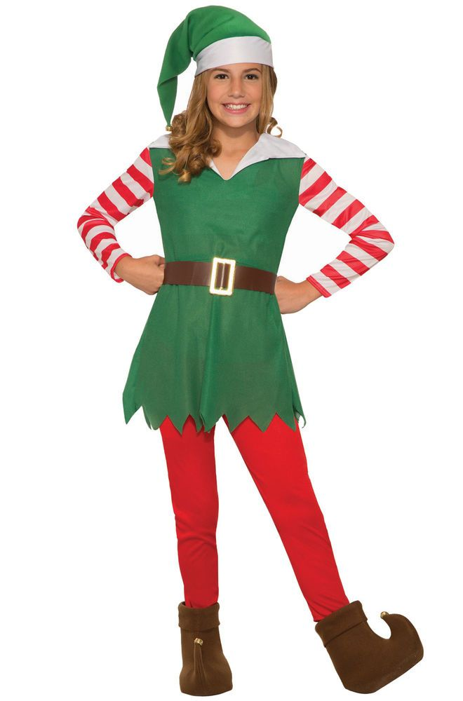 6c5cc2525 Santa's Helper Girl Christmas Elf Child Costume (Small) #ForumNovelties  #CompleteOutfit