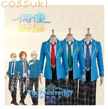 >> Click to Buy << Ensemble Stars Hokuto Hidaka Narukami Arashi Aoi Yuta Japanese High School Uniform Cosplay Costume ,Perfect Custom For you! #Affiliate