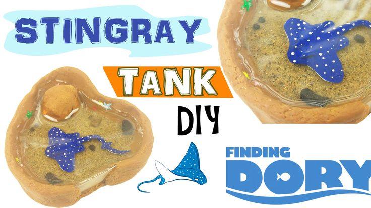 6:09  MINI STINGRAY TANK FINDING DORY Polymer Clay & Resin Tutorial
