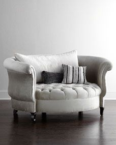 Haute House Harlow Cuddle Chair in Silver Price: $3,399.00 Delivery & Processing Only: $250.00