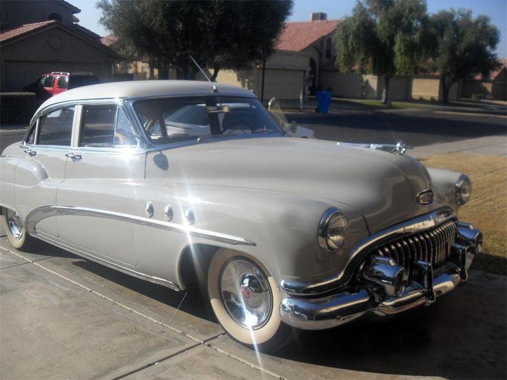 1952 buick super 4 door sedan cars trucks pinterest for 1954 buick roadmaster 4 door