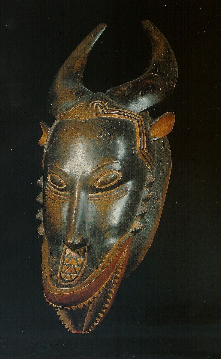 Guro Zamble Mask. Ivory Coast. Ex.coll.PD