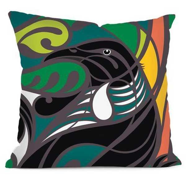Tui Cushion Cover by Shane Hansen