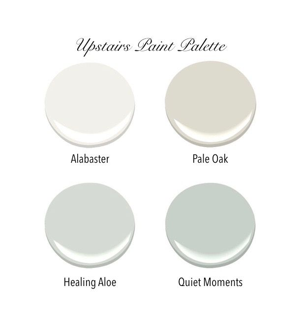 All bedroom walls will be Pale Oak. Master bedroom ceiling will be Quiet Moments. All trim and the hallway will be Alabaster. All paint is Benjamin Moore.