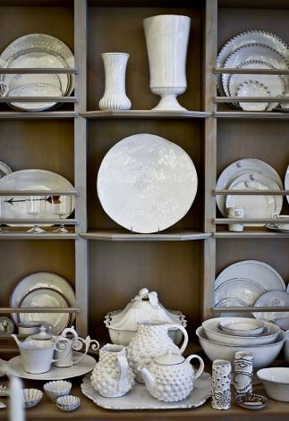 Astier De Villate earthenware is seen at Sue Fisher King on Wednesday June 27 & 104 best Astier images on Pinterest | White dinnerware Dishes and ...