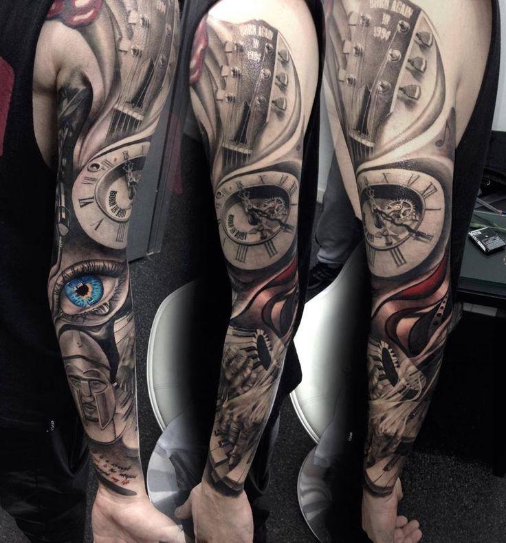 Eduard Virlan, tattoo artist Bucharest, Romania Bioart Tattoo Salon
