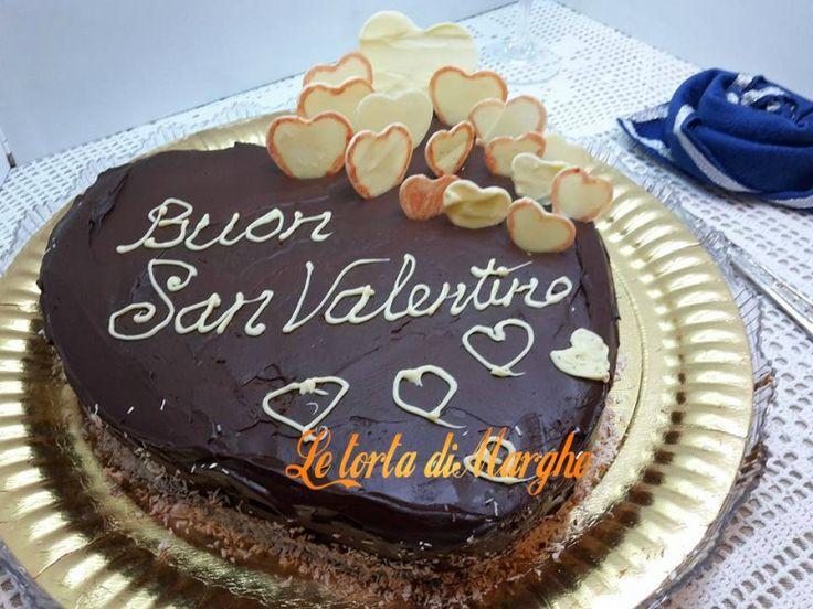 Con questa torta vi auguro buon San Valentino!!! Torta San Valentino