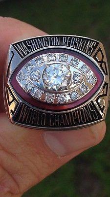 Jostens 1982 Washington Redskins Super Bowl Champions Championship Ring