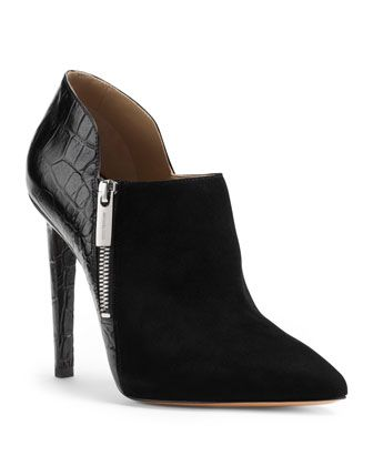 Make your point. Michael Kors Samara Ankle Boot #shoes #heels  www.mydentaltourism.com