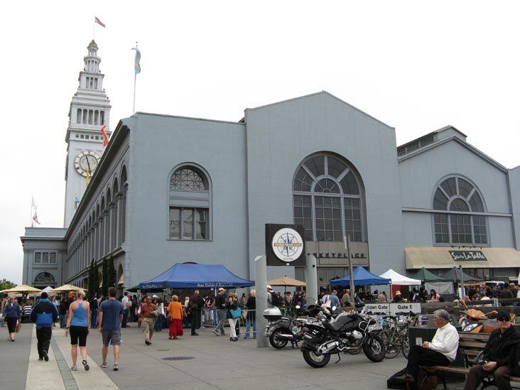 Ferry Plaza Farmers Market, The Embarcadero, San Francisco, California