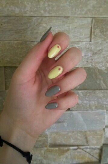 #semilac #stylishgray 105, #banana 023