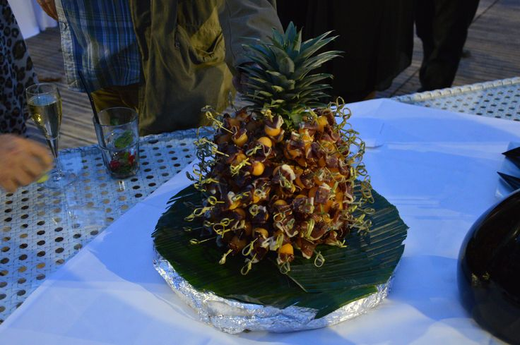 Ananas - jambon/melon