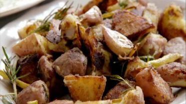 Jamie's 30 minute Meals - krokante aardappelen