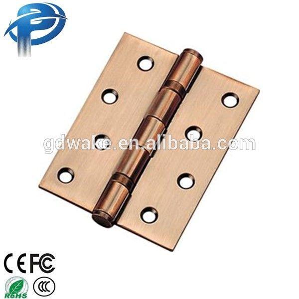 Standard strong heavy duty ball bearing brass straight door hinge
