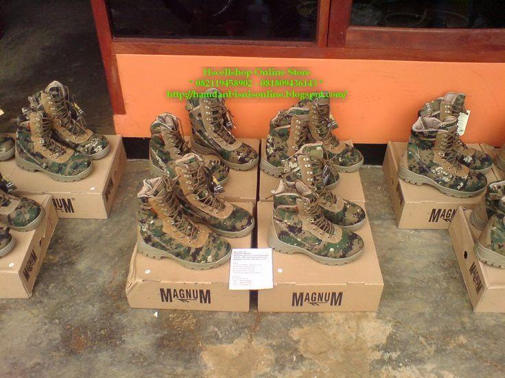 hscellshop: Pengiriman Sepatu PDL Magnum Digital Green 10 pcs ...