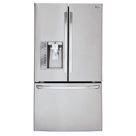 LG 29.8-cu ft French Door Refrigerator with Single Ice Maker (Stainless Steel) ENERGY STAR