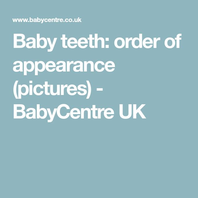 The 25+ best Baby teeth order ideas on Pinterest Pregnancy - baby teeth chart