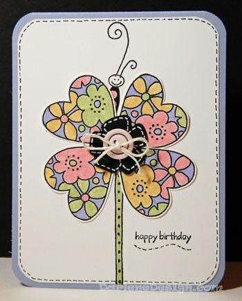 Birth day card.  .