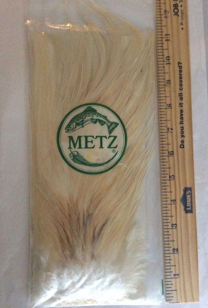 METZ fly tying feathers, Cream / White Feathers, fishing supplies #Metz