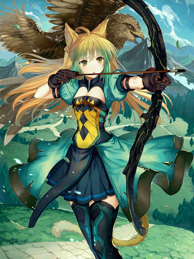 Atalanta ( Archer ) FGO | Anime warrior, Anime girl neko