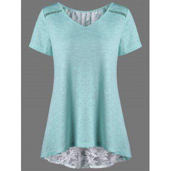 GET $50 NOW | Join Dresslily: Get YOUR $50 NOW!https://m.dresslily.com/lace-up-floral-high-low-hem-t-shirt-product2022257.html?seid=rdEpACfvj64tS70btj7bt8UvKK