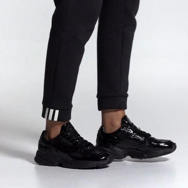 Adidas Falcon Shoes Black Adidas Australia Black Adidas