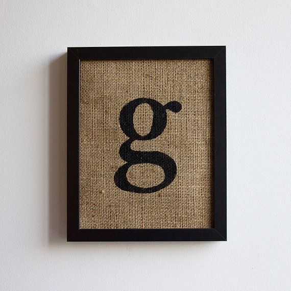 64 best g images on pinterest letter g letters and graphics for Letter g wall decor