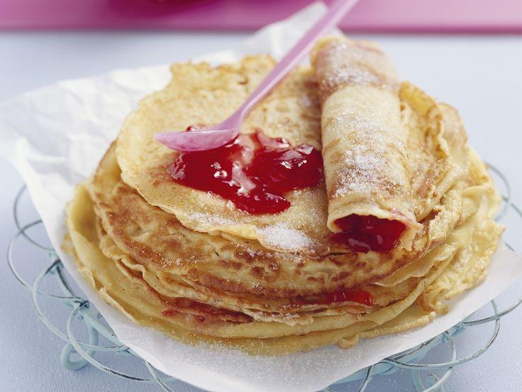 Marmeladen-Pfannkuchen - smarter - Kalorien: 209 Kcal - Zeit: 1 Std. 5 Min. | eatsmarter.de Manchmal muss es gar nicht kompliziert sein.