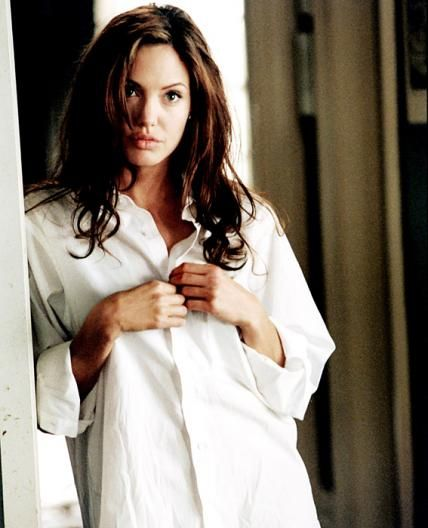 """Angelina Jolie, 2005  Mr. and Mrs. Smith was responsible for bringing together """"It"""" couple Brangelina, and we suspect it was Jolie's sexy white shirt scene that sparked some serious chemistry."""