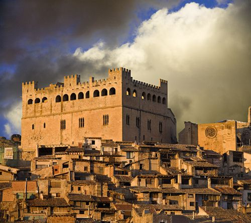 Castillo de Valderrobres,Teruel, Aragon, Spain
