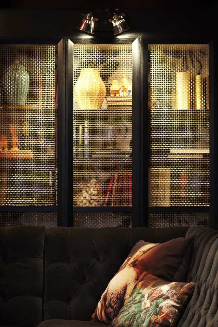 wire mesh front built in. Beresford Hotel bar Kerry Phelan Design Office 14 Beresford Hotel bar by Kerry Phelan Design Office, Sydney