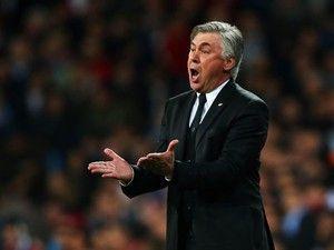 Bayern Munich boss Carlo Ancelotti: 'The referee wasn't up to the task'