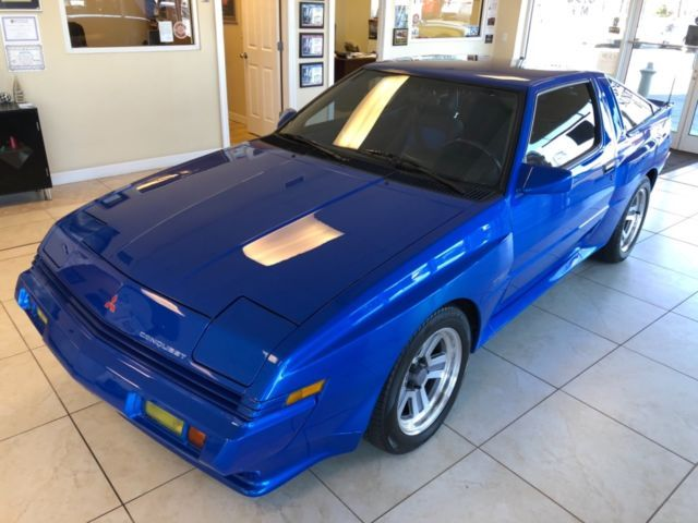 1989 Chrysler Conquest Tsi Low Miles Original Mild Upgrades