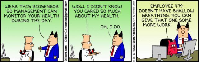 'Dilbert' takes on wireless health