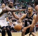 San Antonio Spurs did not provide an opportunity for the Utah Jazz to extend the breath in the first round of playoffs the western region of the NBA on Monday (05/07/2012).