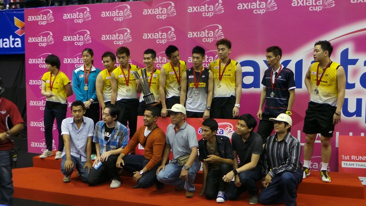Team Malaysia and the Axiata Cup Quiz Winners from Indonesia