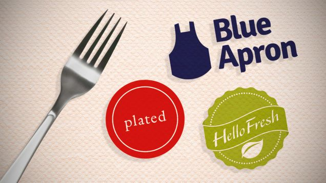 The Best Meal Kit Services: Blue Apron vs. Hello Fresh vs. Plated....thinking about trying one of these.