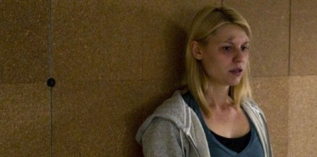 """Trouble bipolaire - Claire Danes, alias Carrie Mathison, l'héroïne de """"Homeland""""."""