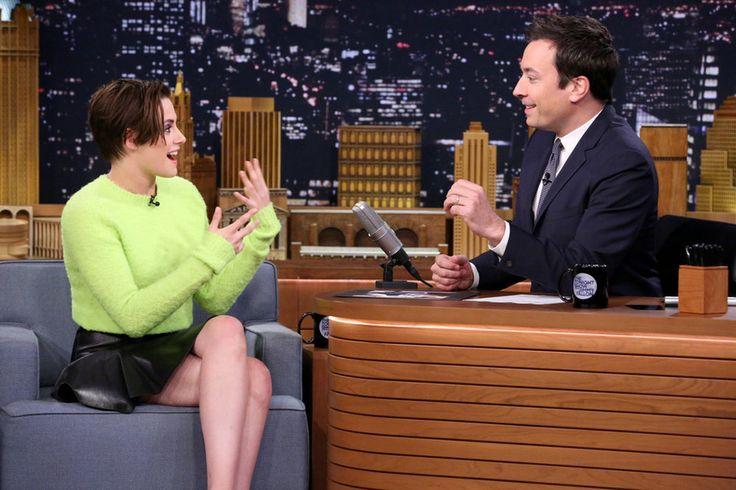 "Kristen Stewart Scheduled for NBC's ""The Tonight Show Starring Jimmy Fallon"""