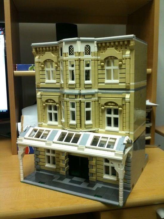 Custom Lego Modular Building Instructions Model 002 10243 10182 10185 10211 | Toys & Hobbies, Building Toys, LEGO | eBay!