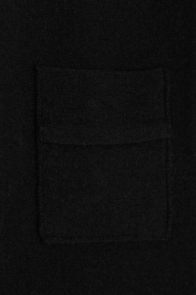 FRAME - Wool And Cashmere-blend Polo Shirt - Black - x small