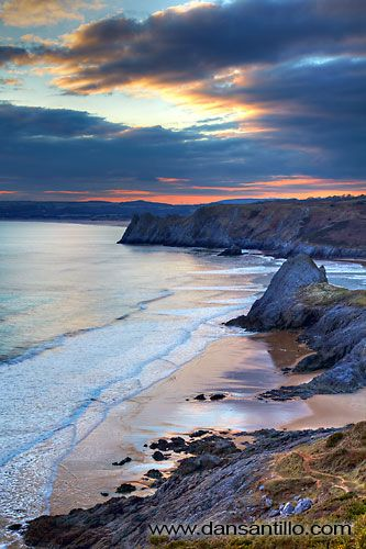 Pobbles Beach, Gower, Wales, UK