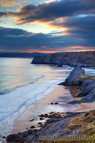 Pobbles Beach - fantastic Gower Peninsula