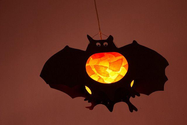 Bat lantern design. Image from Flickr