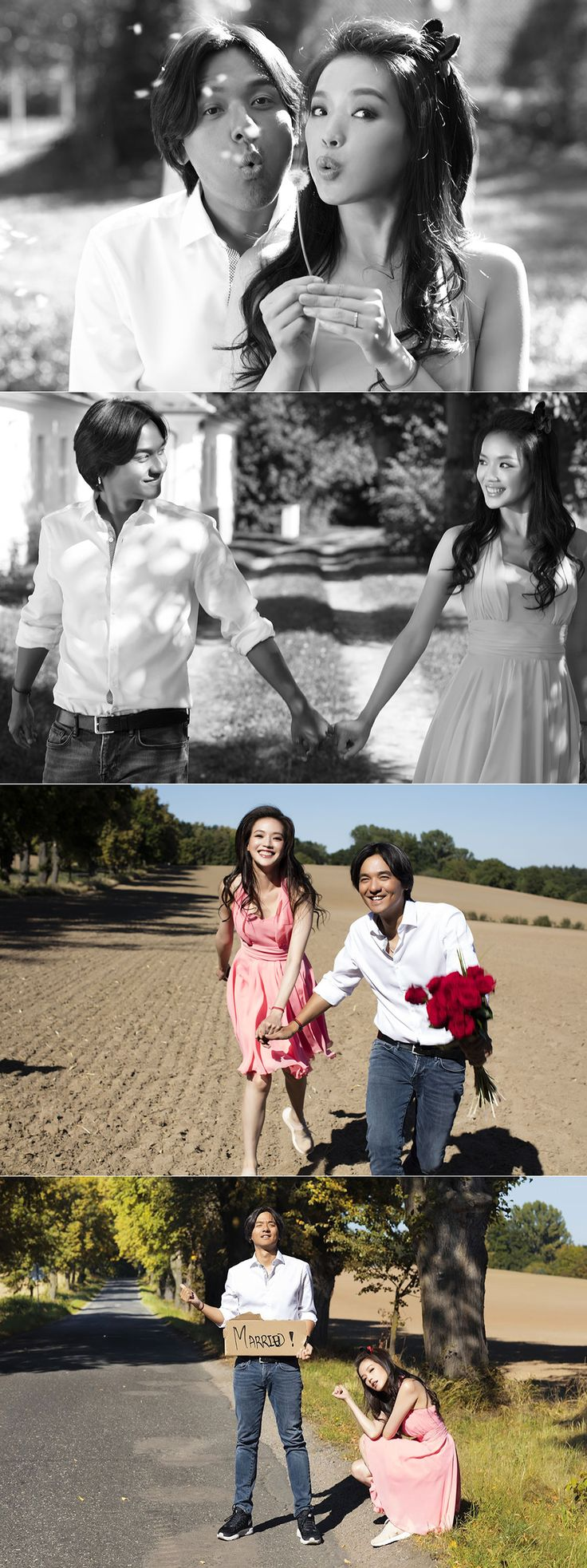 Taiwanese celebrity Shu Qi pre-wedding photoshoot in Prague!